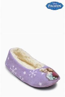 Frozen Ballerina Slippers (Older Girls)