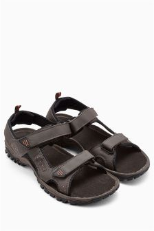 Brown Back Strap Sandal