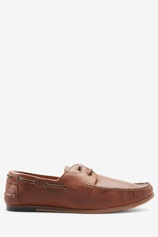 Brown Smart Boat Shoe