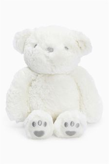 White Bear Toy (Newborn)