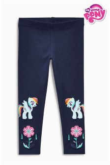 Navy My Little Pony Embroidered Leggings (3mths-6yrs)