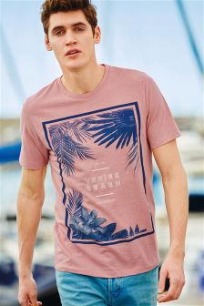 Pink Venice Beach T-Shirt