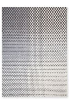 Wool Abstract Charcoal Weave Rug