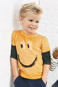 Ochre Long Sleeve T-Shirt (3mths-6yrs)