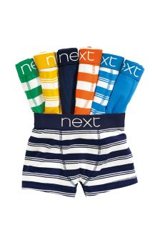Multi Stripe Trunks Seven Pack (2-16yrs)