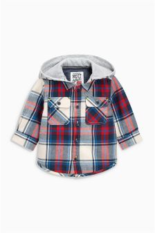 Red Check Shacket (3mths-6yrs)