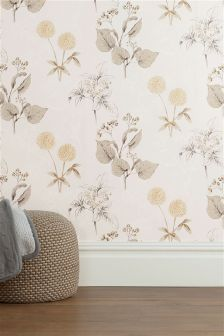 Natural Botanical Wallpaper