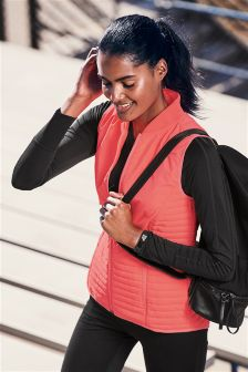 Long Sleeve Technical Top With Mesh
