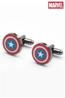 Multi Captain America Shield Cufflinks