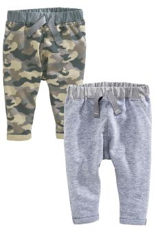 Multi Joggers Two Pack (0mths-2yrs)