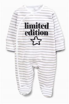 White Limited Edition Sleepsuit (0mths-2yrs)