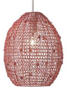 Floral Pink Wire Shade