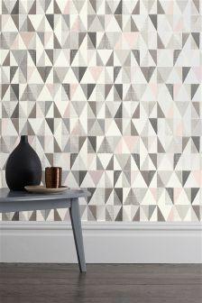 Textured Geo Wallpaper