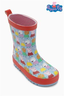 Multi Peppa Pig™ Wellies (Younger Girls)