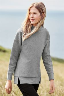 Longline Technical Sweater