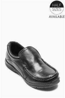Black Sporty Loafers (Older Boys)