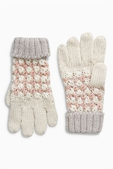 Knitted Gloves (Older Girls)