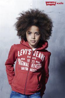 Red Levi's® Red Vintage Logo Zip Hoody