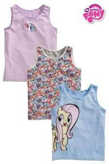 Pink/Blue My Little Pony Vests Three Pack (1.5-12yrs)