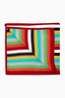 Multi Bold Stripe Blanket (Newborn)