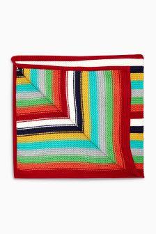 Multi Bold Stripe Blanket (Newborn)