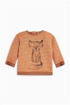 Ginger Fox Jersey Jumper (0mths-2yrs)