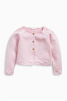 Pink Cardigan (0mths-2yrs)
