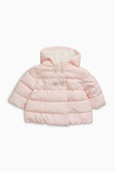 Pink Quilted Jacket (0mths-2yrs)