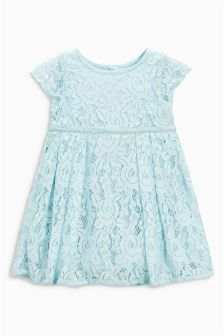 Mint Lace Dress (0mths-2yrs)