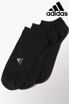 Black adidas Lightweight Socks Two Pack