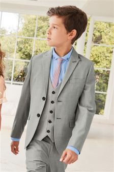 Grey Suit Jacket (12mths-16yrs)