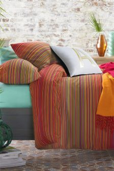 2 Pack Bright Geo Stripe Bed Set