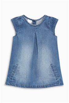 Denim Dress (0mths-2yrs)
