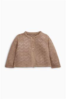 Mink Knit Cardigan (0mths-2yrs)