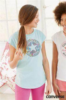Blue Converse All Star Chuck T-Shirt