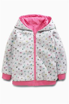 Pink Reversible Jacket (3-6yrs)
