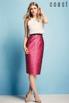 Coast Pink/Cream Ayla Shift Dress