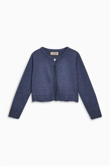 Pointelle Trim Cardigan (3mths-6yrs)