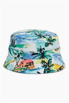 Multi Reversible Fisherman's Hat (0mths-2yrs)