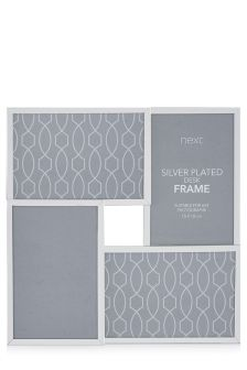 Silver Plated Collage Frame