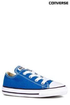 Blue Converse Blue Chuck Taylor Ox