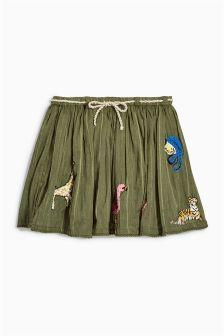Khaki Character Skirt (3mths-6yrs)