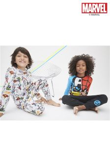 Multi Marvel® Pyjamas Two Pack (3-12yrs)