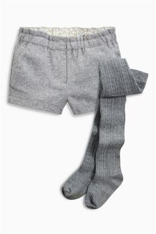 Shorts And Tights Set (3mths-6yrs)