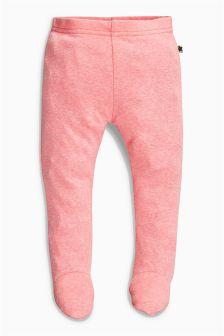 Pink Fluorescent Leggings (0mths-2yrs)