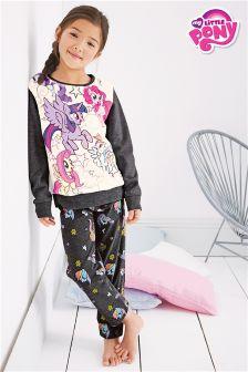 Grey My Little Pony Fleece Pyjamas (3-16yrs)