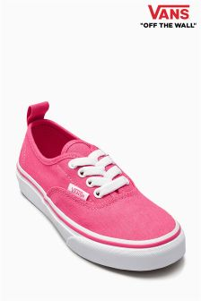 Vans Hot Pink Authentic Trainer