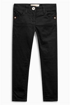Black Soft Handle Skinny Jeans (3-16yrs)