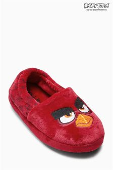 Red Angry Birds Slippers (Older Boys)