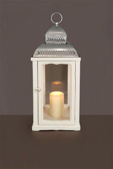 Vintage Wooden Lantern